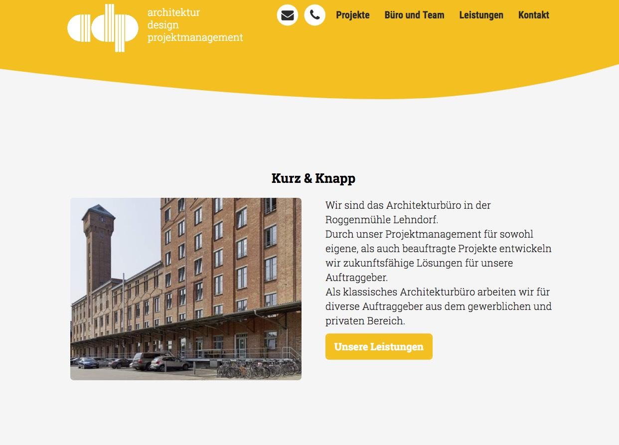 Screenshot adp-funke.de