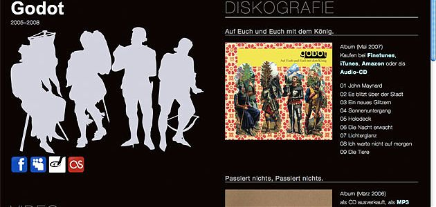 godotmusik.de Screenshot
