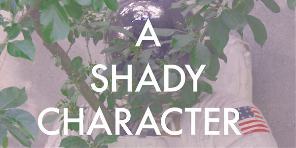 A Shady Character - Cover