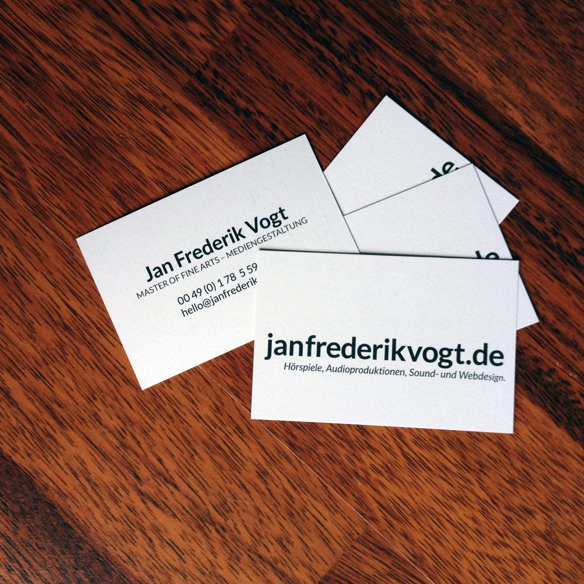 JFV Visitenkarten