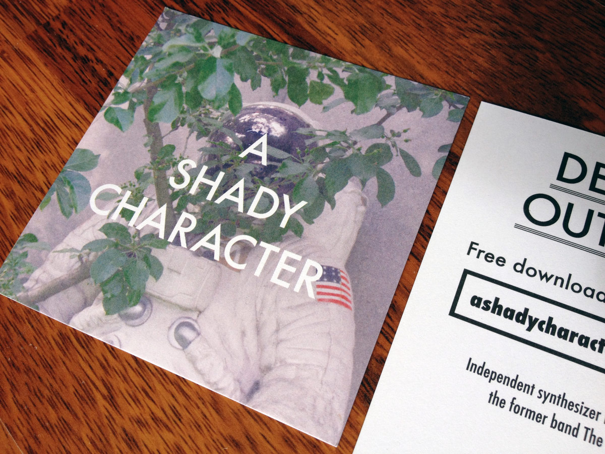 A Shady Character Flyer