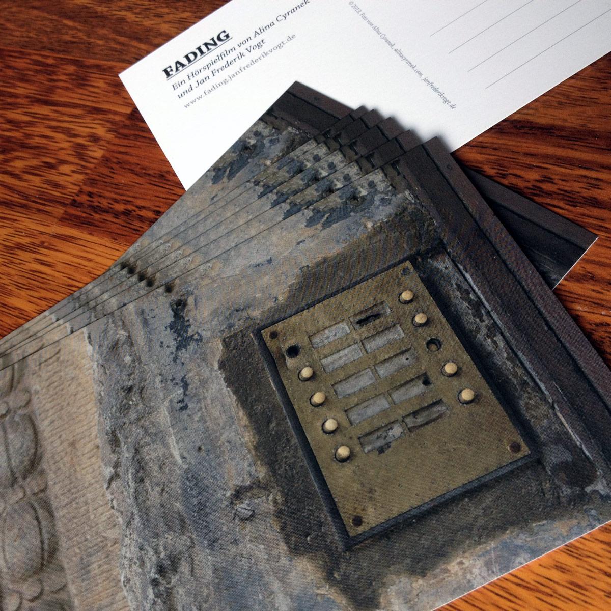 Fading Postkarte